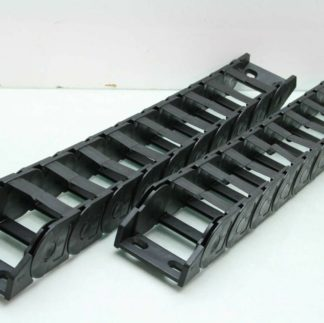 2 Igus Z300075075 Wireway Carrier Cable Chains 3 12 Wide x 2 12 x 26 L Used 172335224860