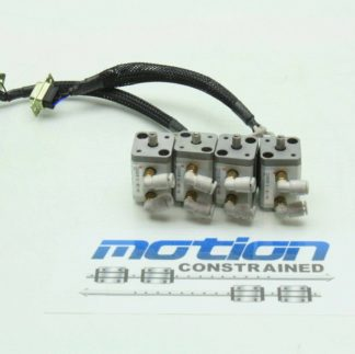 4 SMC CDQSKB12 10D M9 Air Cylinders 12mm Bore x 10mm Stroke w D F8P Switches Used 171343620630