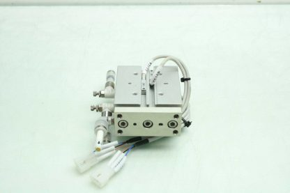 CKD STSB 1620 P73 Pneumatic Guided Air Cylinder T2H Limit Switches 16mm x 20mm Used 172568745389 20