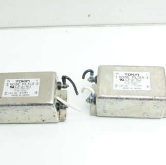 Lot of 2 Tokin LF 2I5U Noise Filters 250V 15A 1500V Used 183294442320