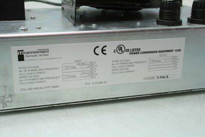 Mannesmann Dematic Sortec 60208959 Power Converter 0 380V Out w Ecofit 2GREu15 Used 172357511880 14