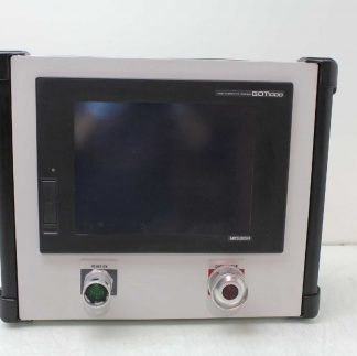 Mitsubishi GT1675M STBD TFT Touch Screen Panel PC in Hoffman Enclosure CP323512 Used 172122704380