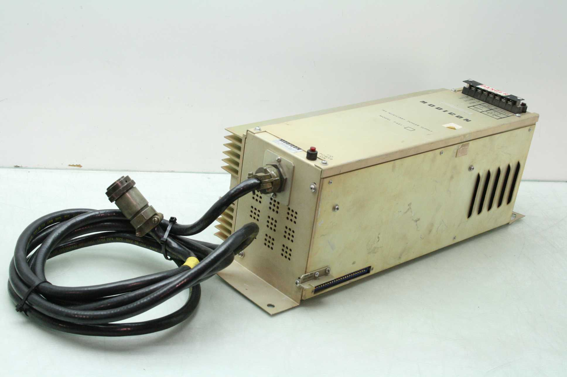 Modicon Model P421 184 Auxiliary PLC Power Supply - Used