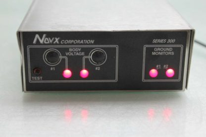 NOVX Corporation ESD 300 Series Work Station Equipment Ground Plane Monitor Used 172292974090 3