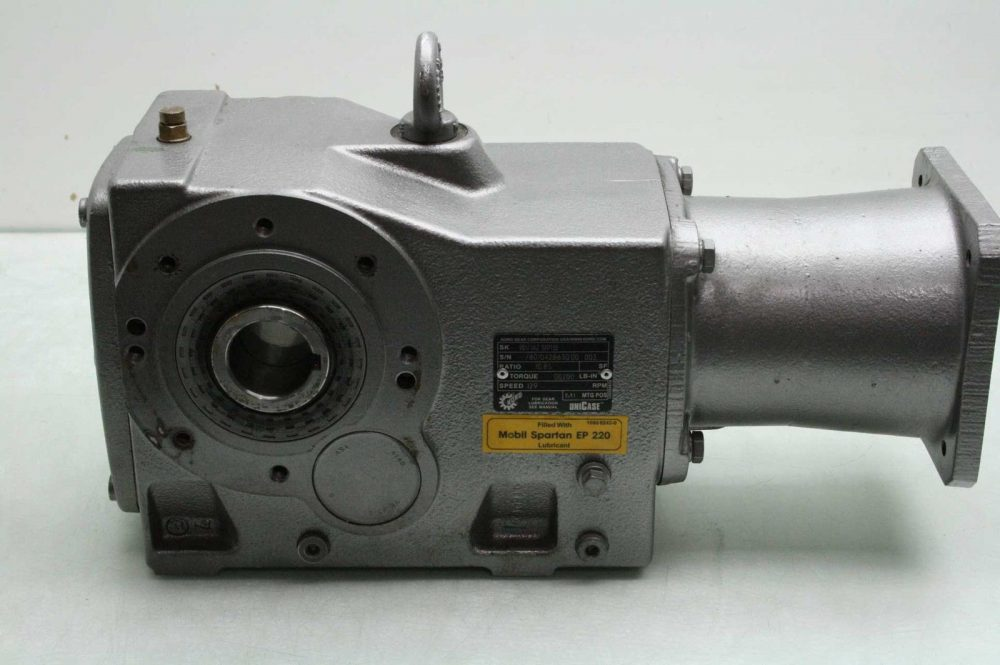 How To Calculate Gear Ratio >> Nord Gear Corporation 90121AZ SEP130 Gear Drive / Reducer 10.85 Ratio - Used - Motion ...