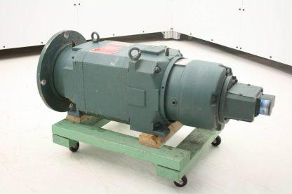 Reliance 10 HP Square Frame L21620 AC Motor 01KL790177 KAT1 Servo Tachometer Used 171967020600