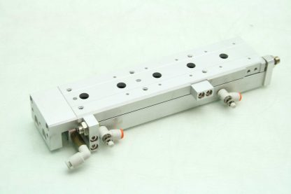 SMC 13 MXS12L 100A Pneumatic Guided Air Cylinder 12mm Bore x 100mm Stroke Used 172266888345 10