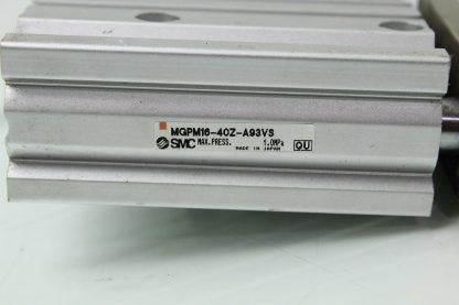 SMC MGPM16 40Z A93VS Guided Air Cylinder Slide Table 16mm Bore x 40mm Stroke Used 183391711220 17