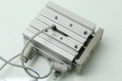 SMC MGPM16 40Z A93VS Guided Air Cylinder Slide Table 16mm Bore x 40mm Stroke Used 183391711220 18