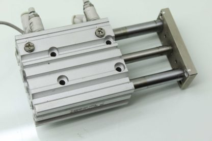 SMC MGPM16 40Z A93VS Guided Air Cylinder Slide Table 16mm Bore x 40mm Stroke Used 183391711220 4