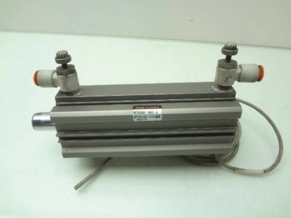 SMC NCDQ2A32 100DC A Pneumatic Compact Air Cylinder 32mm Bore x 100mm Stroke Used 172199789430