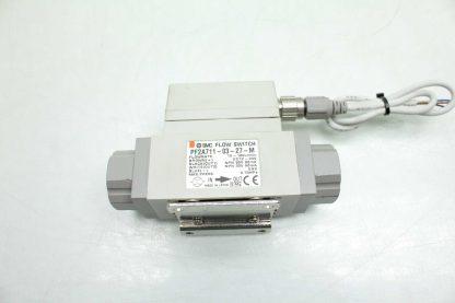 SMC PF2A711 03 27 M Digital Water Flow Switch 10 100LMin Flow 38 Port Used 172393893350 2