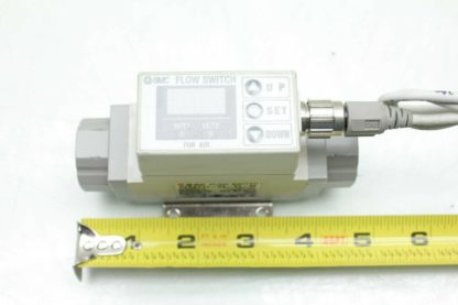 SMC PF2A711 03 27 M Digital Water Flow Switch 10 100LMin Flow 38 Port Used 172393893350 9