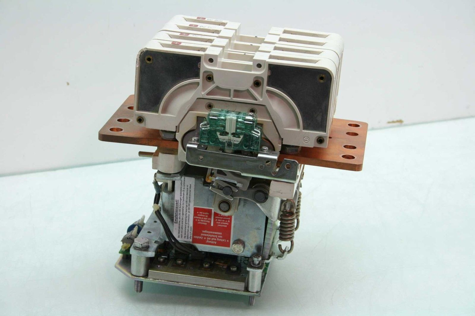 Schaltbau C157-P40-E-24EX-G1-P 4 Pole High Voltage DC Contactor 24V DC Coil  300A - Used