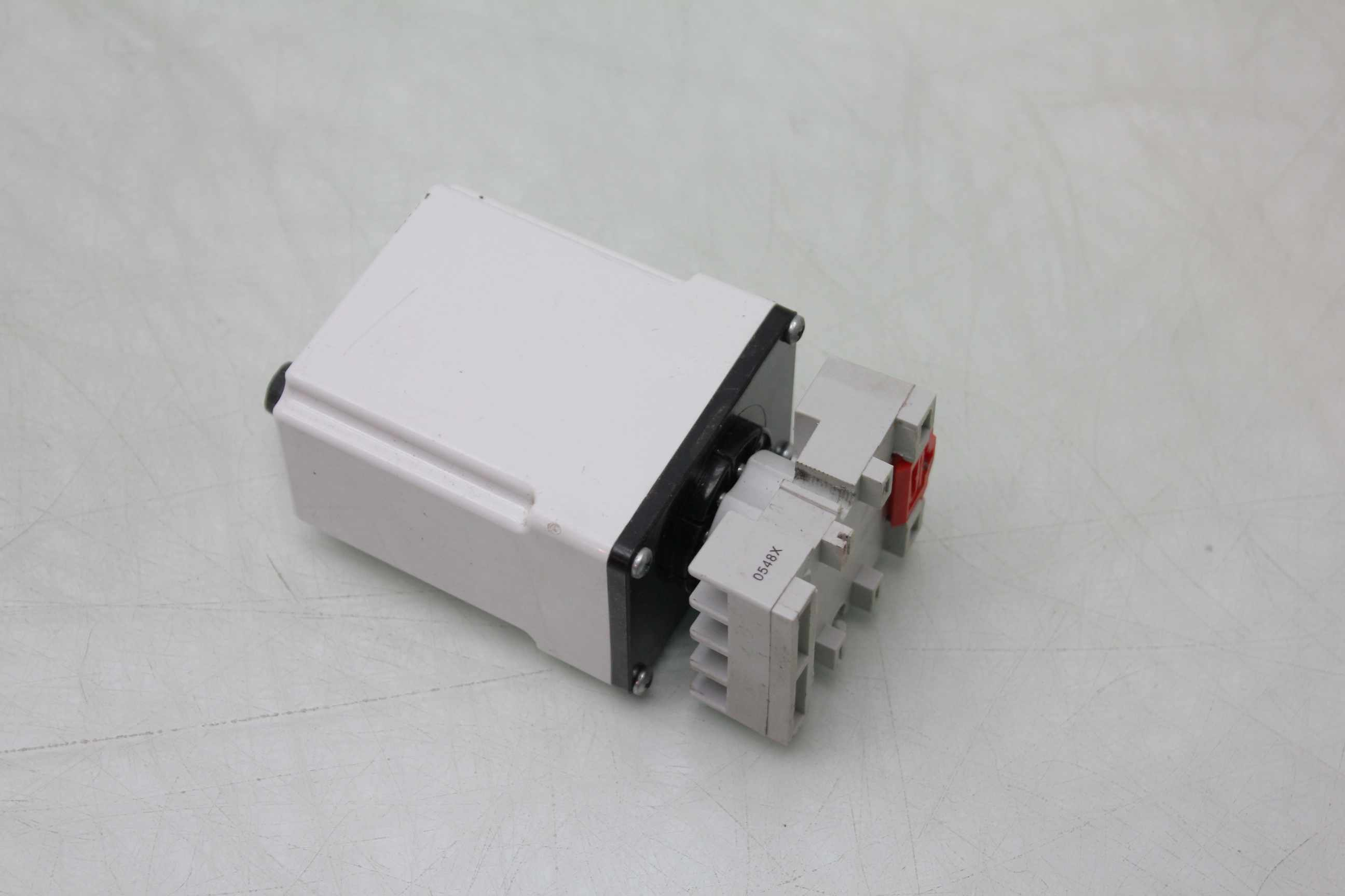 2 Macromatic TR-50224-08 Time Delay Relays 0.6s - 60s Range with Socket on