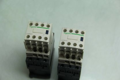 2 Schneider Electric LC1D09BD Control Contactor 5 24V DC Coil LADN40 NO Block Used 172104239581