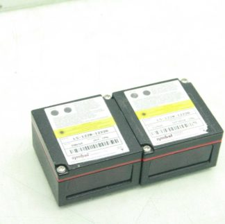2 Symbol LS 1220 I222A Miniscan Fixed Laser Barcode Scanners