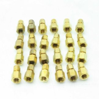 24 New Parker 2 2 GBZ B CPI Female Connector Fittings Brass 18 x 18 New 183153096521
