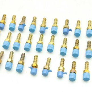 28 New Parker 4 2 B2HF B Barbed Connectors to MNPT 14Barb to 18 Pipe New 183102481361