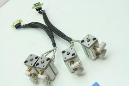 4 SMC CDQSKB12 10D M9 Air Cylinders 12mm Bore x 10mm Stroke w D F8P Switches Used 171343620630 11