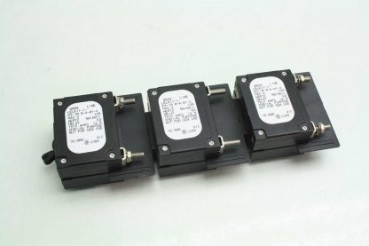 6 Airpax LELK11 1 63 100 A 01 V Custom Circuit Breakers 125 Amps 125V AC Used 171920365741 2