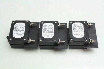 6 Airpax LELK11 1 63 100 A 01 V Custom Circuit Breakers 125 Amps 125V AC Used 171920365741 4