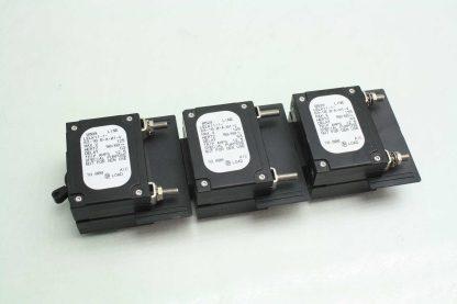 6 Airpax LELK11 1 63 100 A 01 V Custom Circuit Breakers 125 Amps 125V AC Used 171920365741