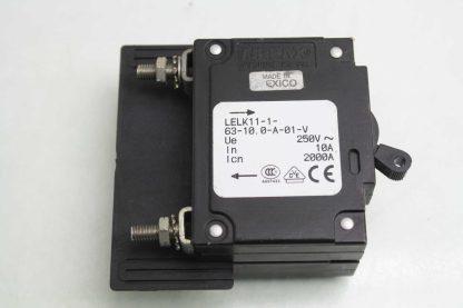 6 Airpax LELK11 1 63 100 A 01 V Custom Circuit Breakers 125 Amps 125V AC Used 171920365741 8