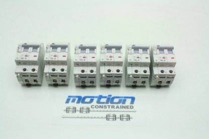 6 Allen Bradley 1492 SP2B130 13A Circuit Breakers 1992 ASPH3 Auxiliary Contact Used 171462965281