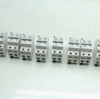 8 Allen Bradley 1492 SP2C050 Double Pole Circuit Breakers 5A Rated Used 182091756291