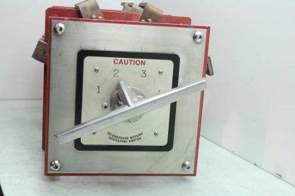 Knife High Current 3 Pole 4 Position Electrical Shut Off Switch Shunt 10000V Used 172464793171 13