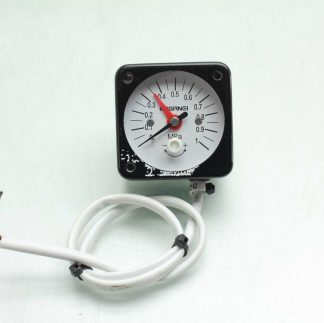 Koganei GS1 50 DL Pressure Gauge with Built in Switch 14 NPT Port 24V DC Used 182338432721