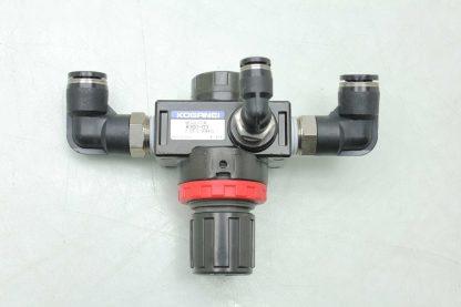 Koganei R300 03 Modular Air Pressure Regulator 005 083 MPa Range 14 Port Used 172439415561