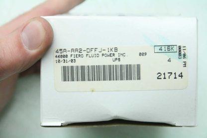 New MAC 45A AA2 DFFJ 1KB Pneumatic Air Solenoid Valve 24V DC Coils 18 NPT New 172226743131 2