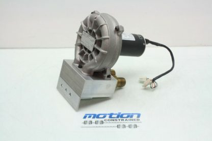 Rietschle Thomas SGP 50 04 Blower Vacuum Pump Papst 42 60V DC Drive Motor Used 171504021641