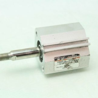 SMC CDQ2L20 15DM A73H Pneumatic Compact Air Cylinder 20mm Bore x 15mm Stroke Used 171893816721