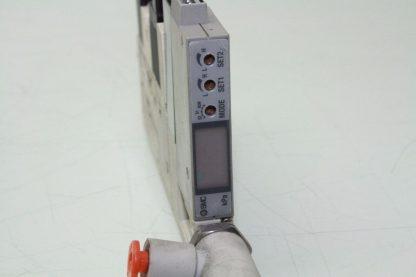 SMC ZQ1101U Vacuum Ejector Valve K15L0 D52CN 10mm Width LED Display Used 172124058971 2