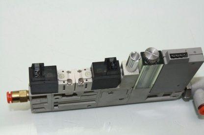 SMC ZQ1101U Vacuum Ejector Valve K15L0 D52CN 10mm Width LED Display Used 172124058971 4