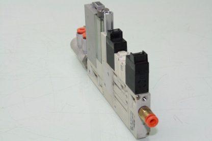 SMC ZQ1101U Vacuum Ejector Valve K15L0 D52CN 10mm Width LED Display Used 172124058971