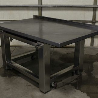 TMC 63 671 Vibration Isolation Table ClassOne Workstation Table 60 x 36 x 2 Used 183792678381