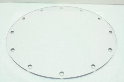14 Acrylic ISO F 250 Vacuum Pump Flange Dust Cover DN 250mm ISO250 New 171308020535 2