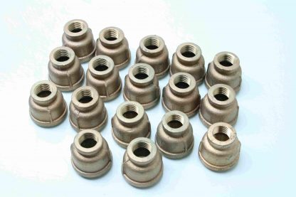 17 All MRO Brass 12 NPT X 1 NPT Reducing Pipe Coupling Fitting New 171605759378 2