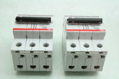 2 ABB S273 K10A Three Pole Industrial Circuit Breakers 10A Used 172570182561 2