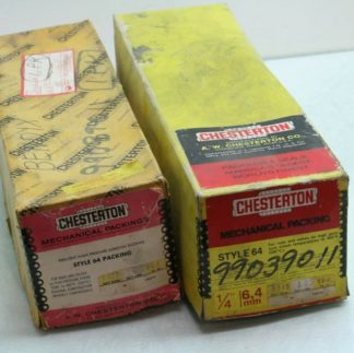 2 Chesterton Type 64 Mechanical Packing 14 Diameter Valve Expansion Joint New 182014473962