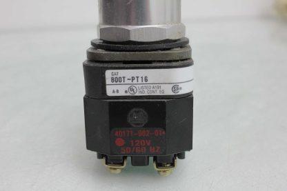 Allen Bradley 800T PT16 Heavy Duty 30mm Pilot Light Push Button Orange 110 120V Used 172501879392 18