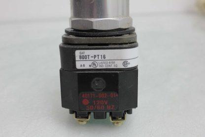 Allen Bradley 800T PT16 Heavy Duty 30mm Pilot Light Push Button Orange 110 120V Used 172501879392 4