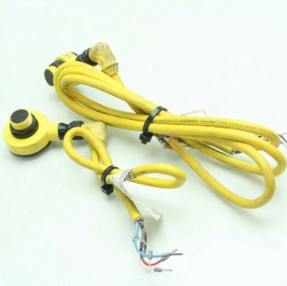 Banner T18XDN1EQ6 Emitter T18XDN1RQ6 Receiver Sensor with Allen Bradley Cables Used 182371309922