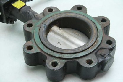 Center Line 200 4 DN100 Stainless Steel Butterfly Valve Manual Lever Controlled Used 172473248397 2