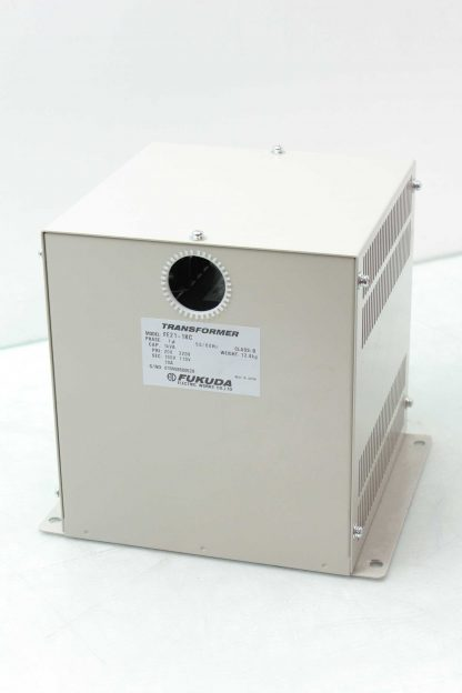 Fukuda FE21 1KC Transformer 1 kVA 1 Ph 200 220V Primary 100 110V Secondary 10A Used 172558333912 15