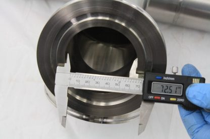MDC Stainless Steel High Vacuum Tubing 63 Long ISO K DN100 Flanges ISO100 K Used 171430774298 12